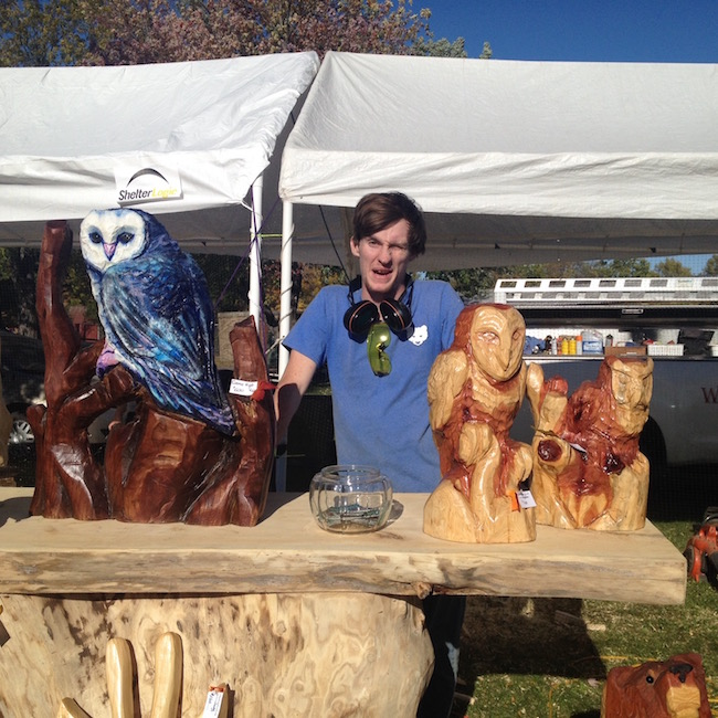 Chainsaw carvings fairs festivals